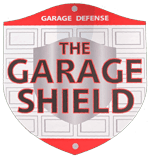 THE GARAGE SHIELD Logo
