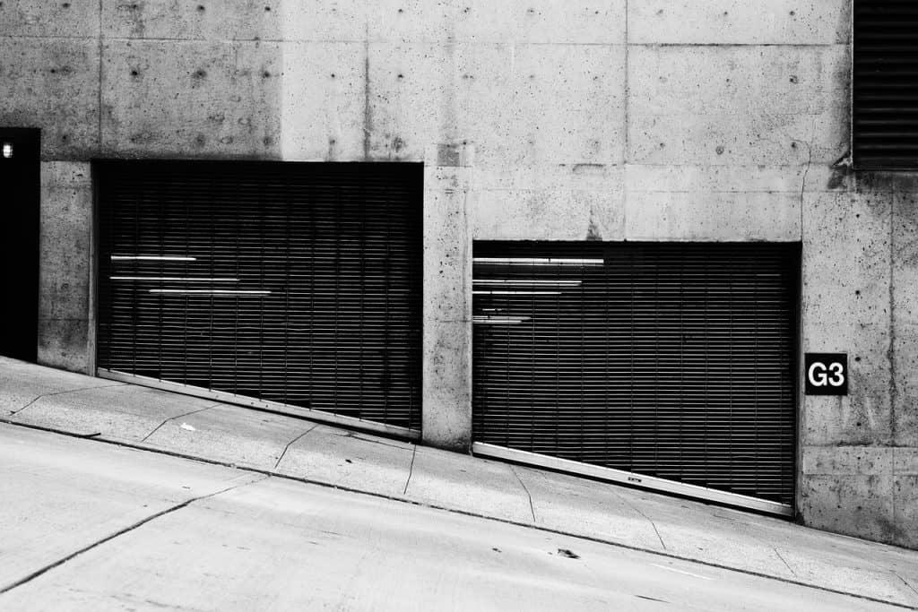 securing a garage door