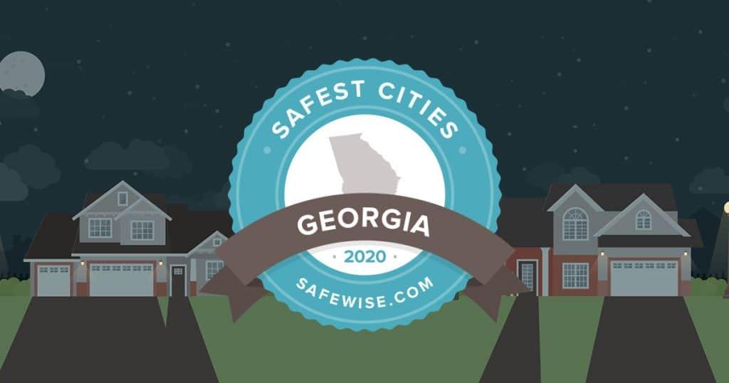 Georgia's 50 Safest Cities of 2020