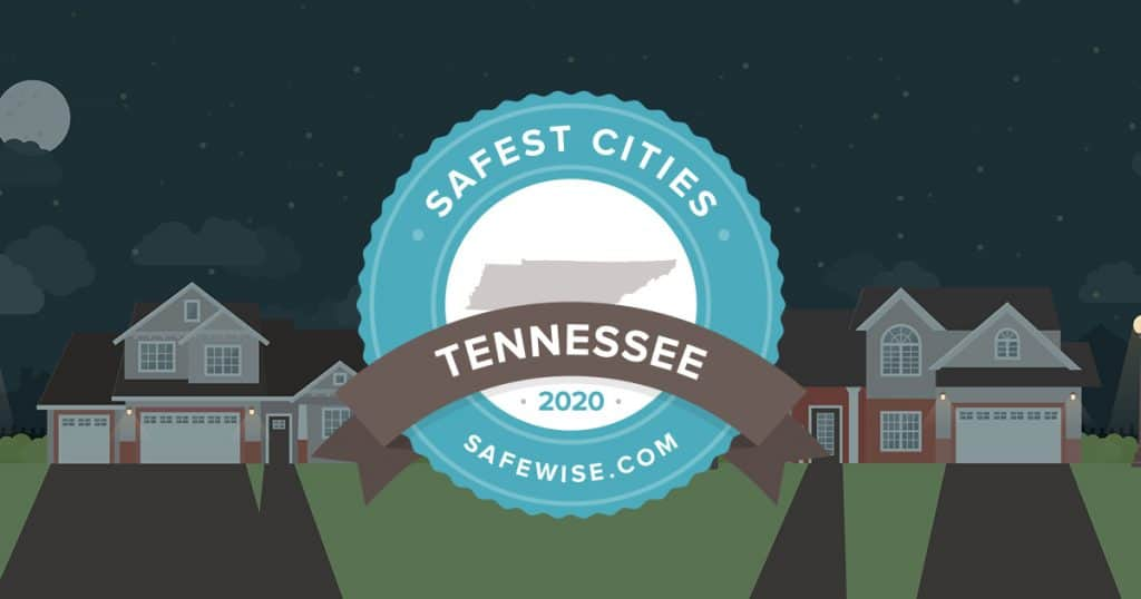 Tennessee's 20 Safest Cities of 2020