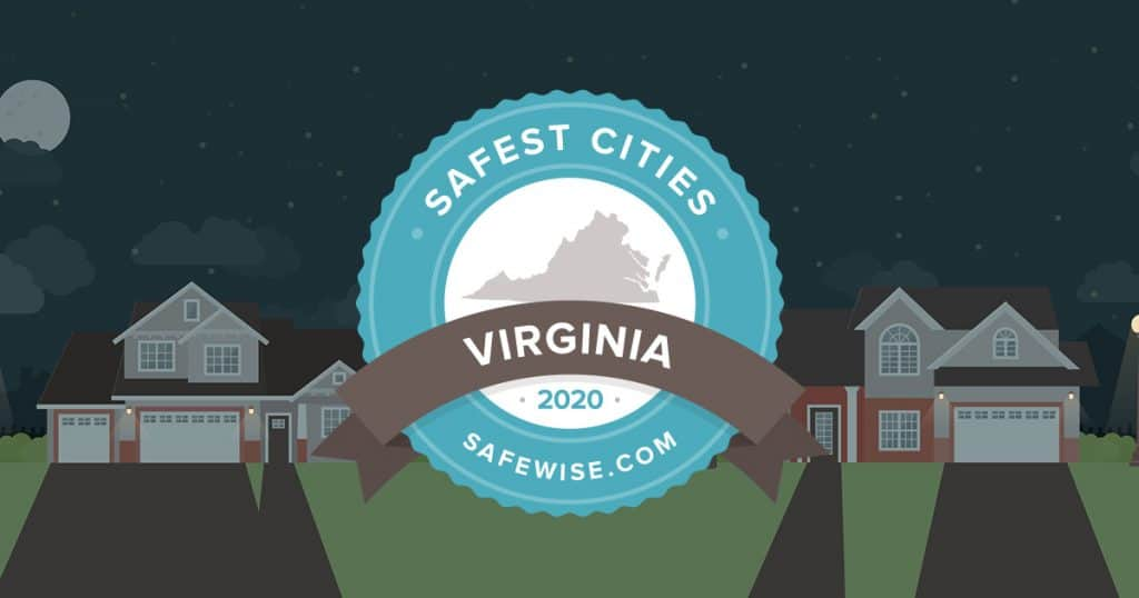 Virginia's 20 Safest Cities of 2020