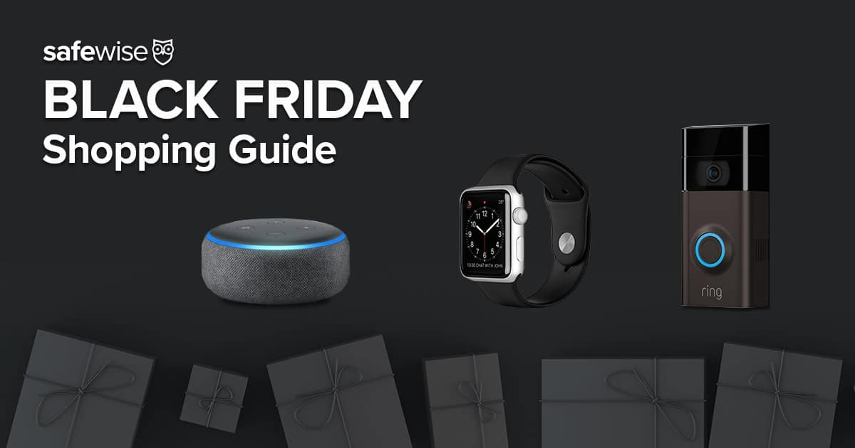 Your Black Friday & Cyber Monday Shopping Guide to Smart Home Tech