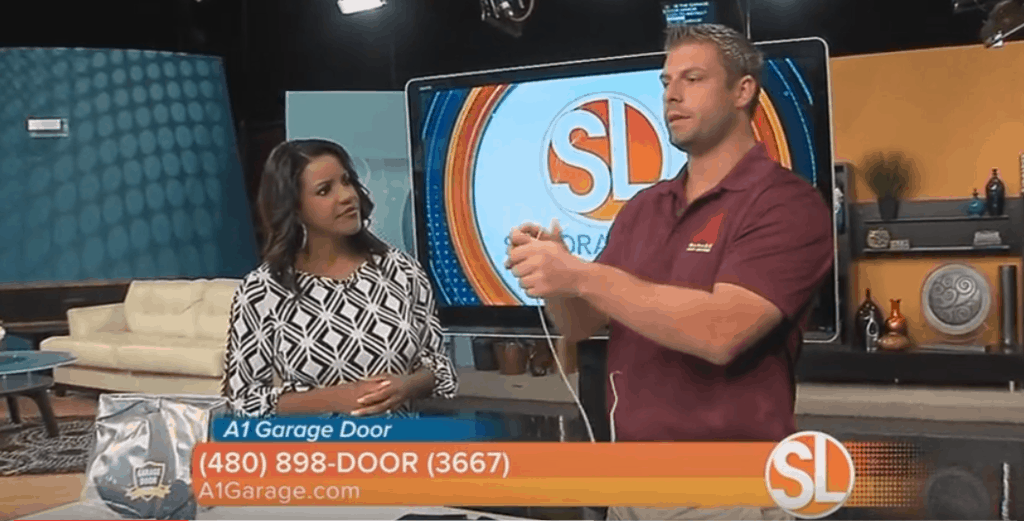 Garage Door Armor on KNXV Sonoran Living Live 2016