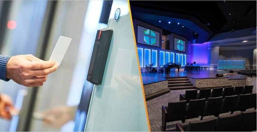 access control systems for church cornerstone protection