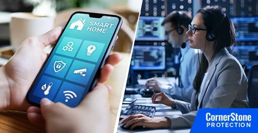 ecv false alarms system cornerstone protection
