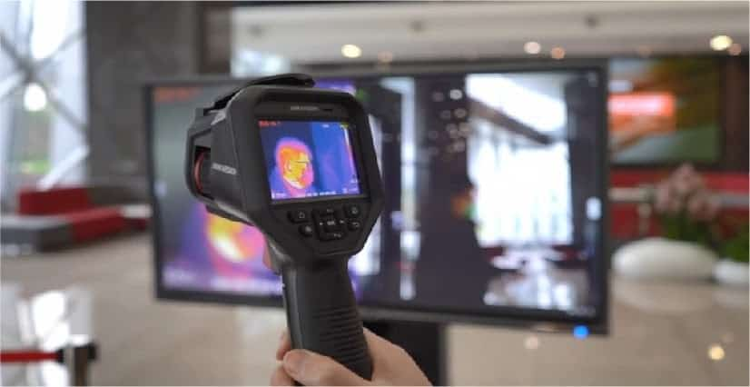 thermal camera to detect body temperature cornerstone protection