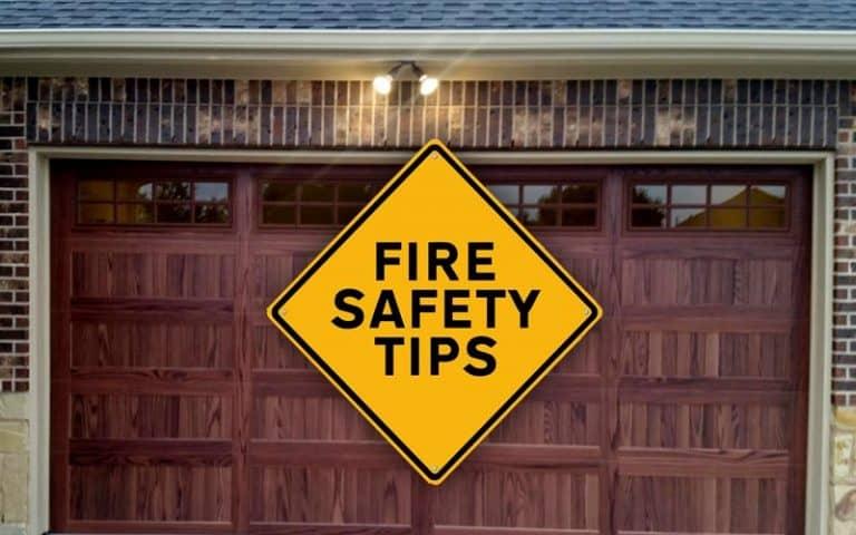 Fire Safety   Garage Door Doctor