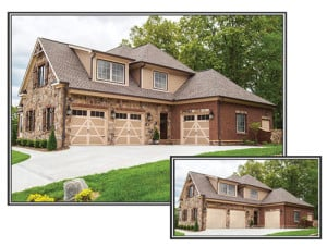 Garage doors enhance a home's curb appeal and value