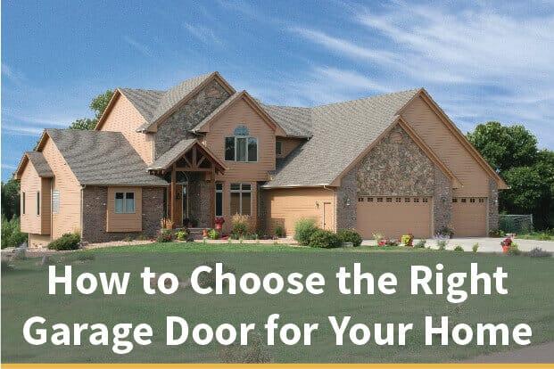 How to Choose the Right Garage Door
