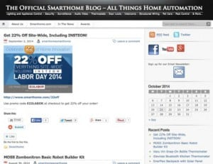 9 of the Top House Automation Blog Sites