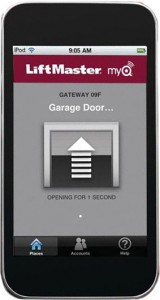 Screen and Control Your Garage Door from Your Smart Device– From Throughout the World!