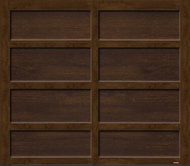 Cambridge CL, 8' x 7', Chocolate Walnut door and overlays