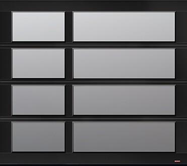California Zen, 8' x 7', Black, Satin windows