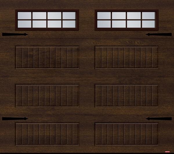 Standard+ North Hatley LP, 9' x 8', Chocolate windows, 8 lite Orion windows