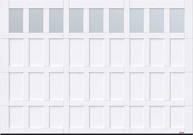 Cambridge CS, 10' x 7', Ice White, Clear Panoramic windows