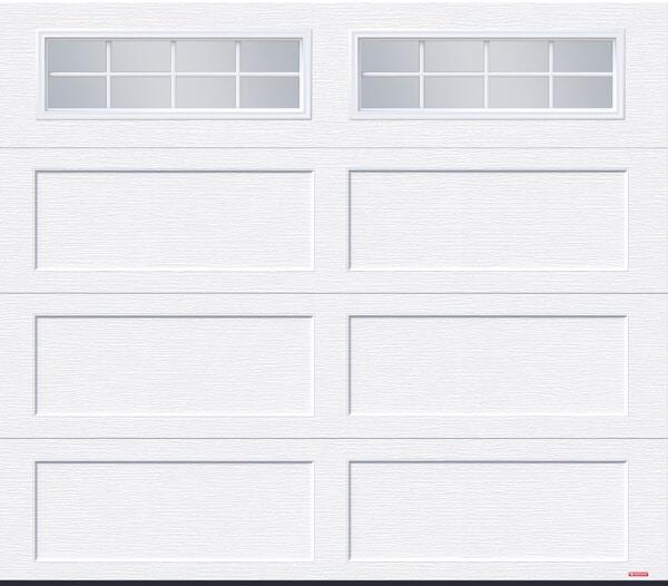 Standard+ Shaker CC, 8' x 7', Ice White, 8 lite Orion windows