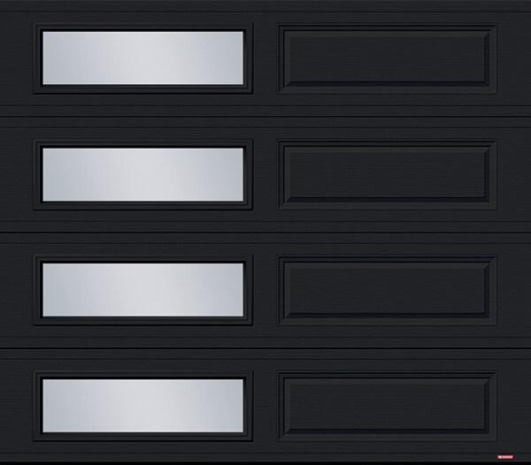 Standard+ Classic XL, 8' x 7', Black, window layout: Right-side Harmony