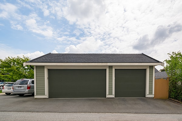 pay for a garage with credit