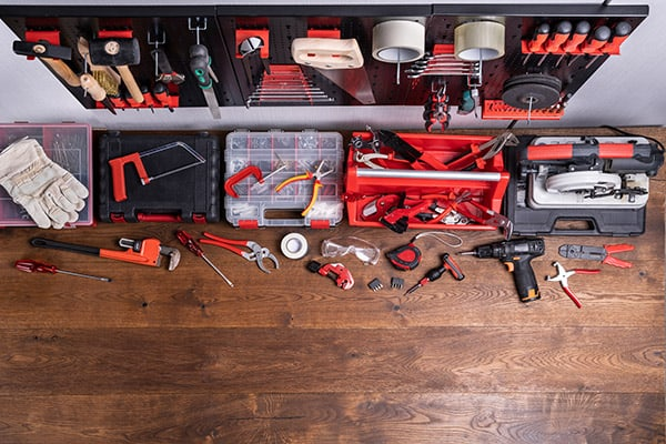 organize and upgrade your garage