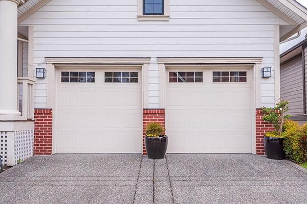 energy efficient garage with windows