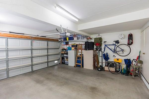 garage floor sweating