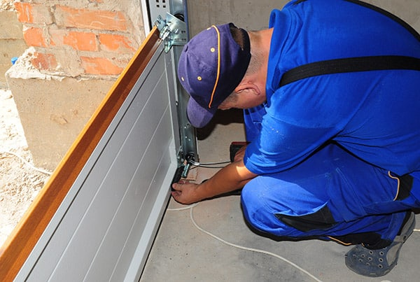 garage door repair done by a professional installer