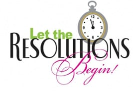 Let the resolutions begin