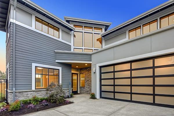 garage curb appeal