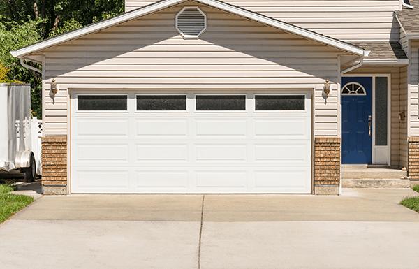 remodeled detached garage