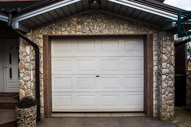 brick detached garage