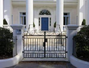 garage entry gate