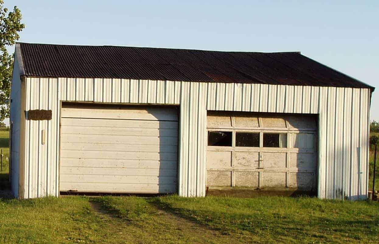 double garage door