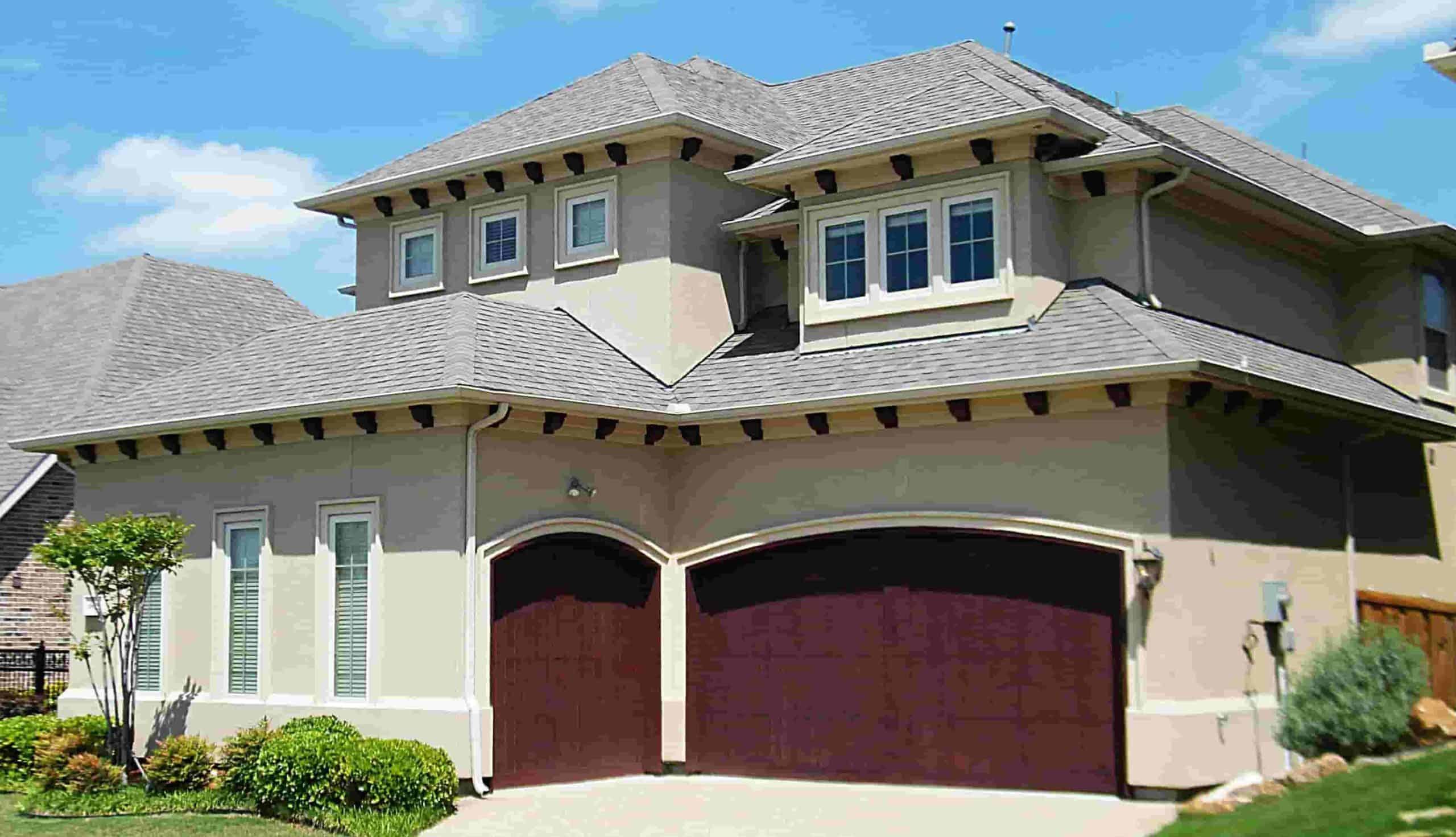 spanish style garage door