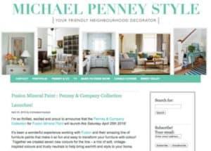 Michael Penney Style Website