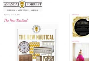 Amanda Forrest Website