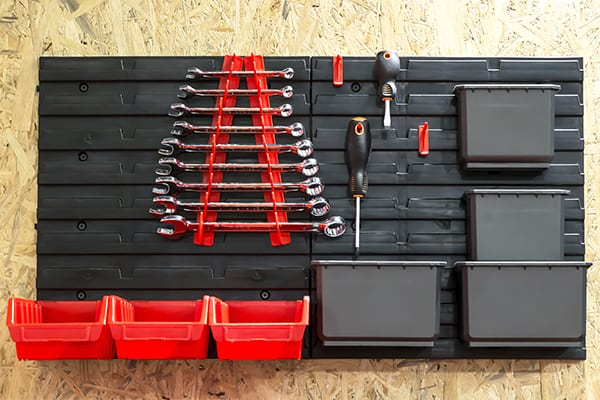 garage slatwall accessories