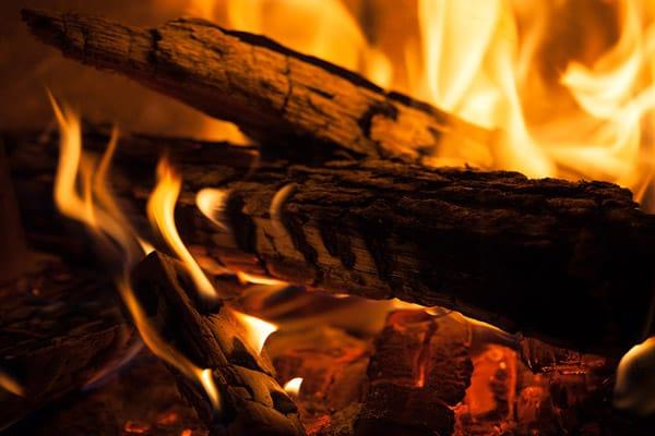 garage fireplace