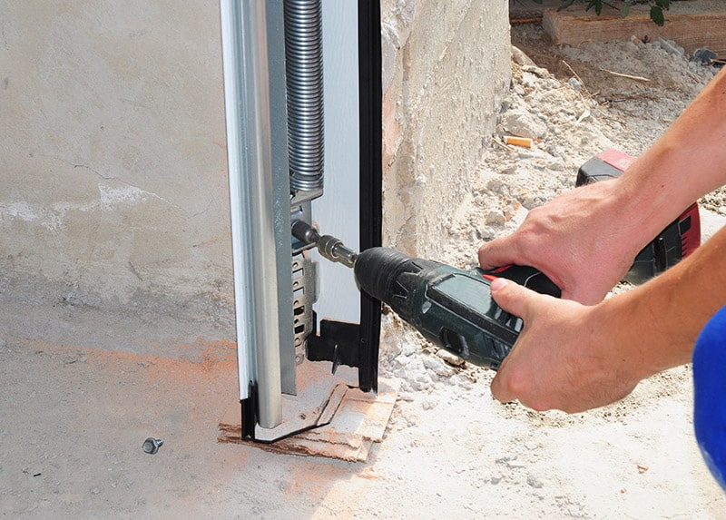 garage heat loss can be fixed by replacing your door