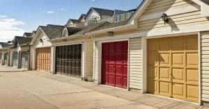 differents residential garage door