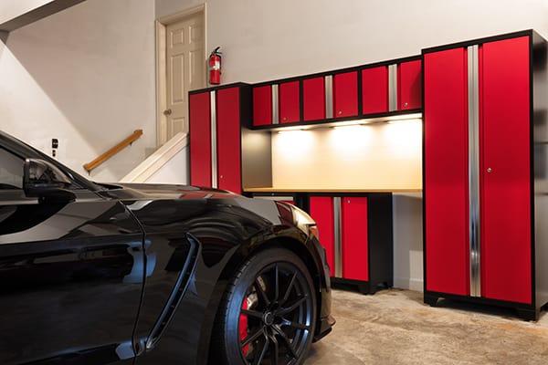 overhead garage cabinets
