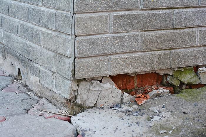 garage foundation problems