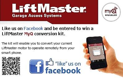 LiftMaster MyQ conversion kit