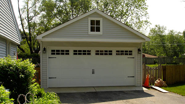 new garage from danleys