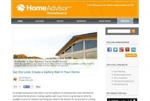 HomeAdvisor HomeSource