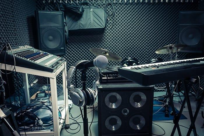 garage music studio