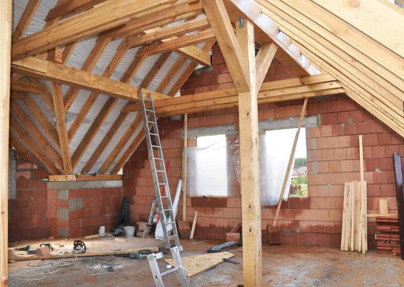 building a garage attic