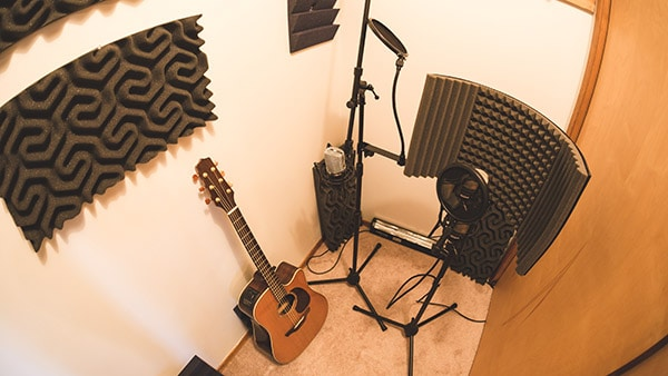 soundproof garage studio