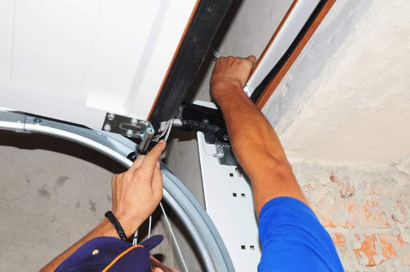 fixing garage door alingment