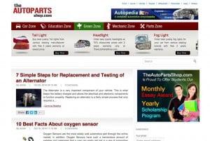 The AutoPartsShop Automobile Blog
