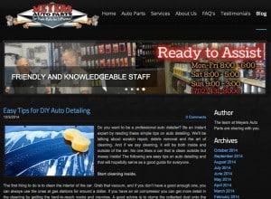 Meyers Auto Parts Blog
